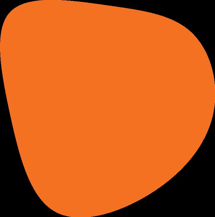 blob orange 4